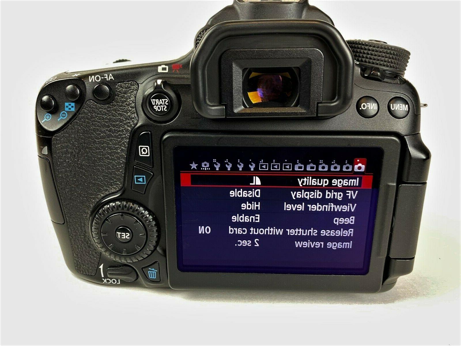 Canon EOS 70D DSLR Accessories &