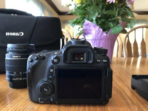 Canon EOS 70D Camera Bundle With