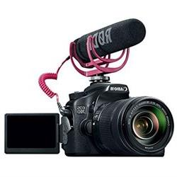 Canon EOS 70D Video Creator Kit with Lens, Rode VideoMic, an