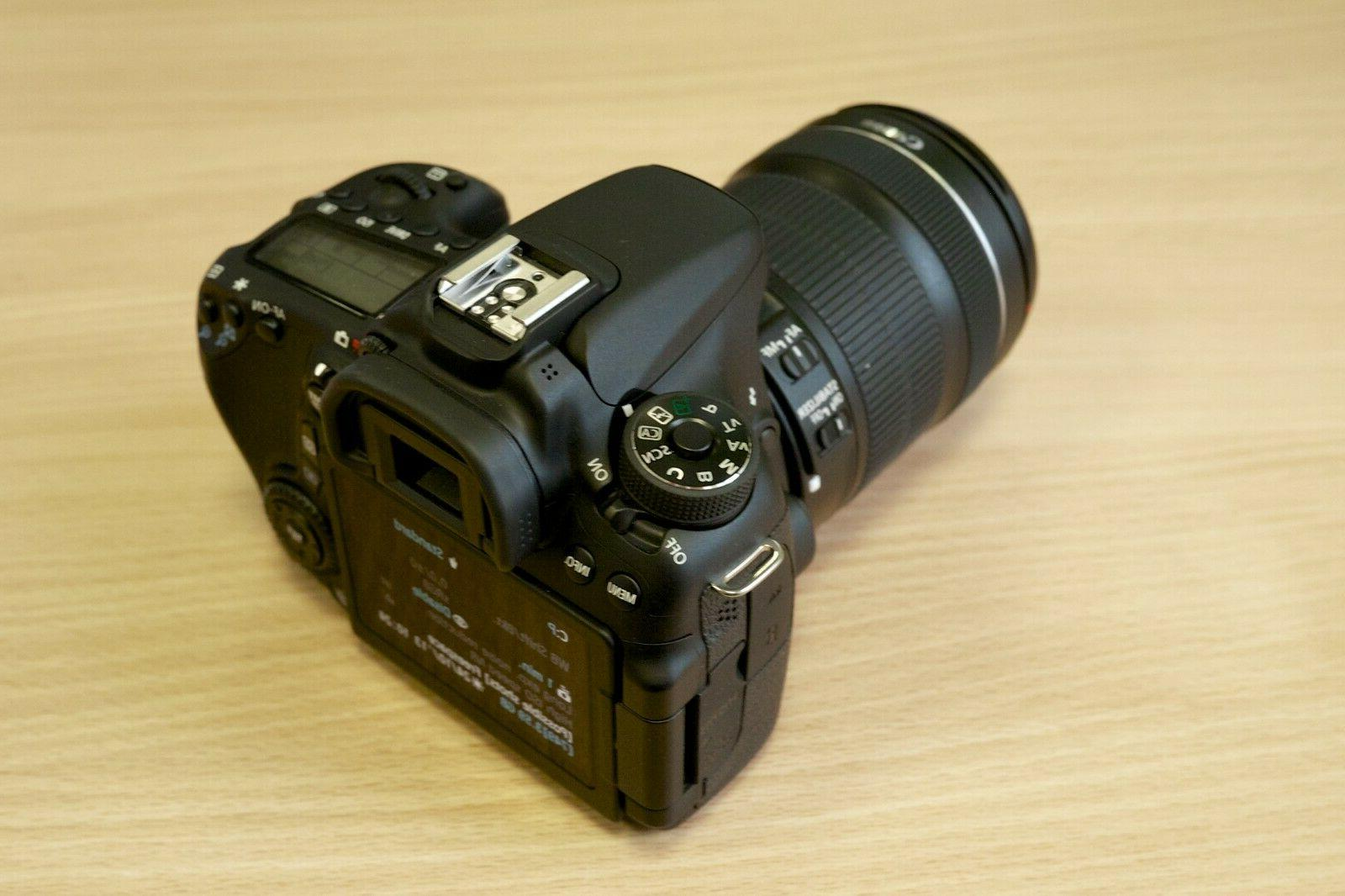 Canon EOS camera with & Lens