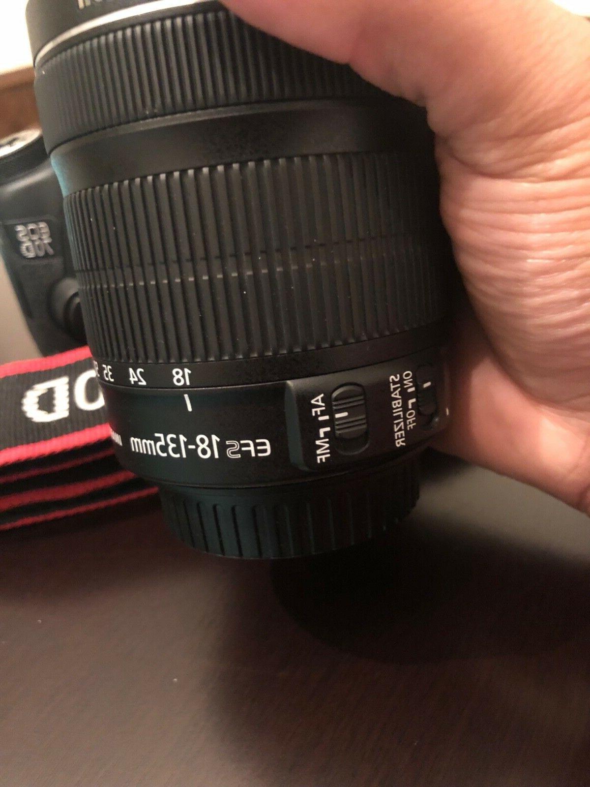 Canon Camera, 18-135mm Lens,64GB Memory