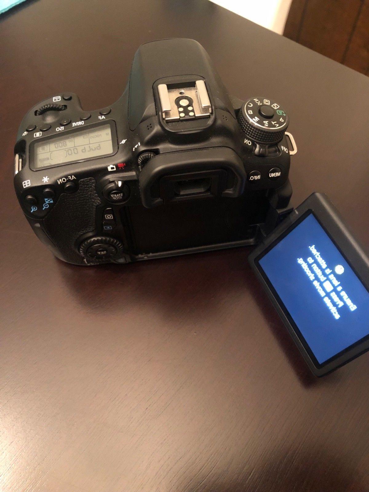 Canon EOS 70D DSLR Lens,64GB Cards, Tripod