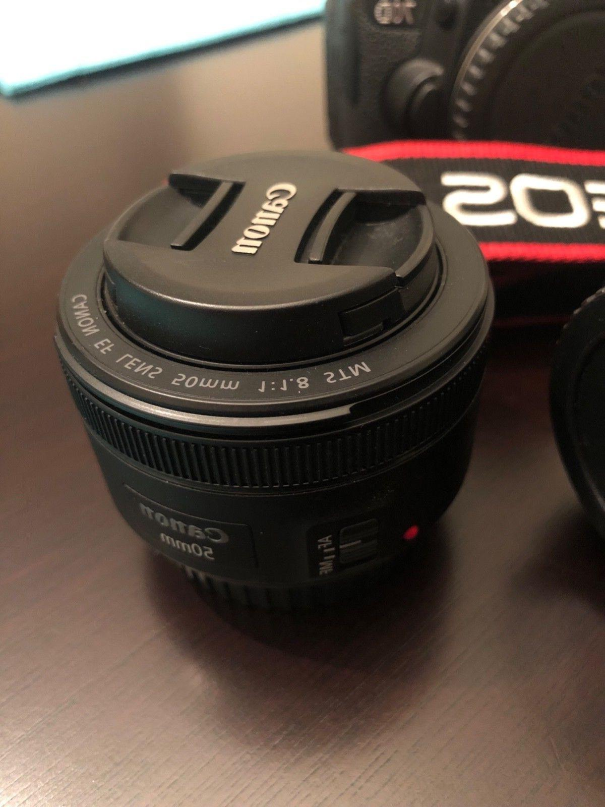 Canon 70D DSLR Camera, Lens,64GB Tripod