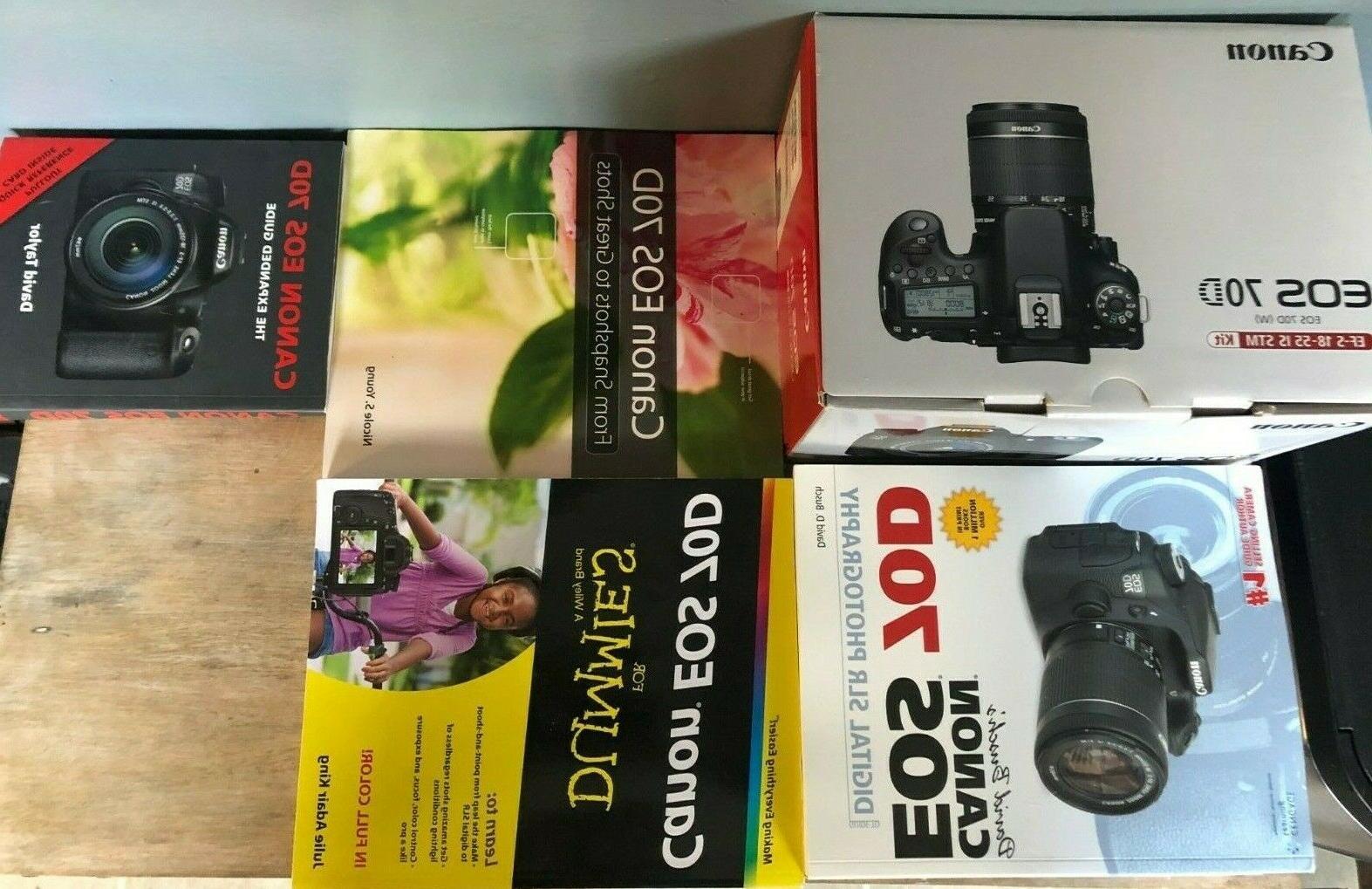 Canon EOS 70D Camera Extras - Brand New!!