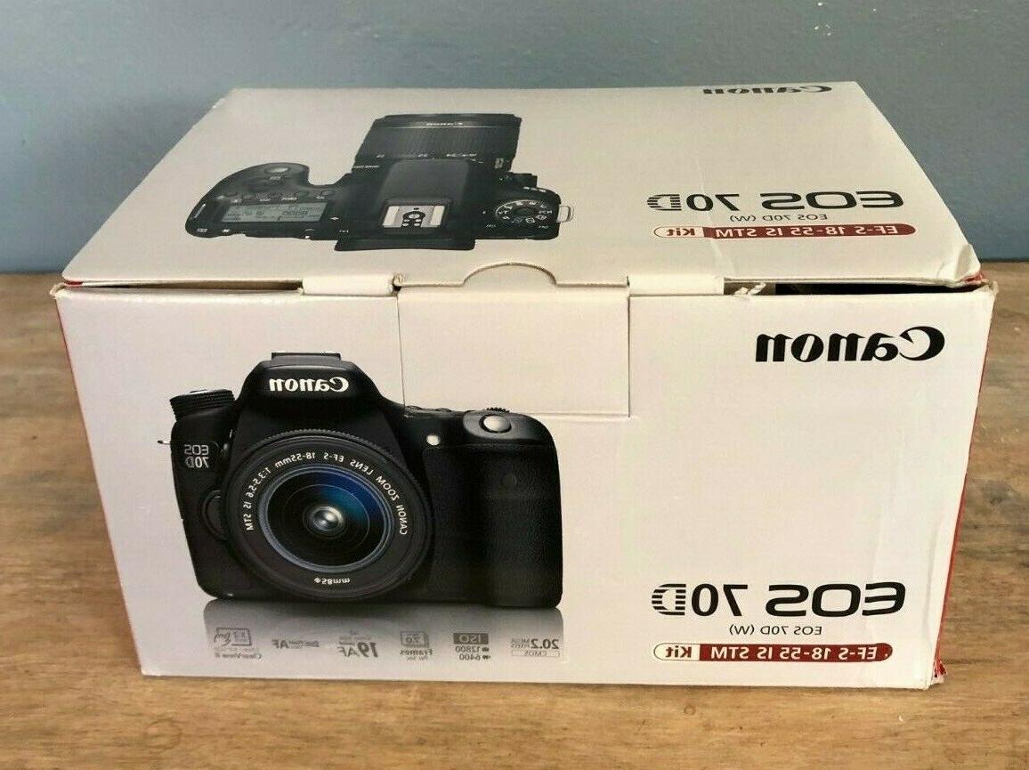 eos 70d dslr camera kit ef s