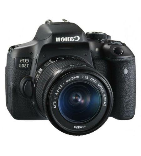 eos 750d rebel t6i 24 2mp hd