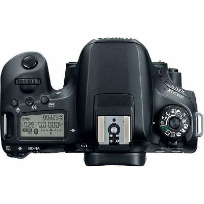 Canon EOS 77D MP Digital Camera +32GB Bundle