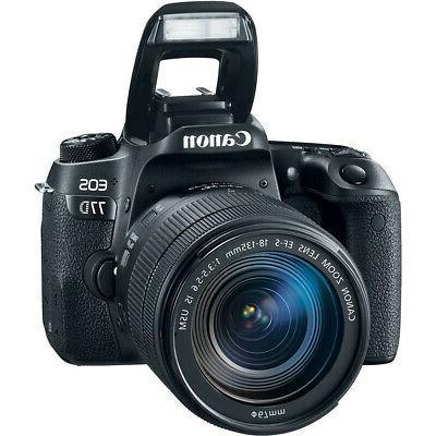 Canon 77D DSLR Lens 64GB Pro