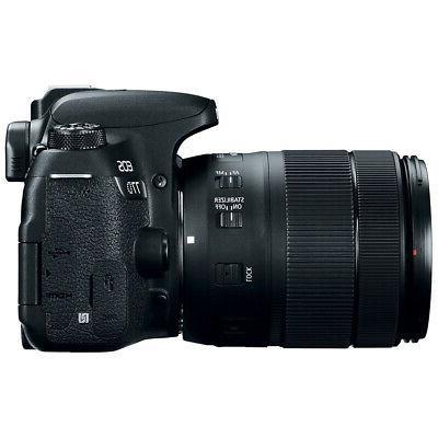 Canon EOS 77D CMOS DSLR EF-S Lens 64GB Pro