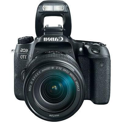 Canon 77D DSLR Lens Bundle
