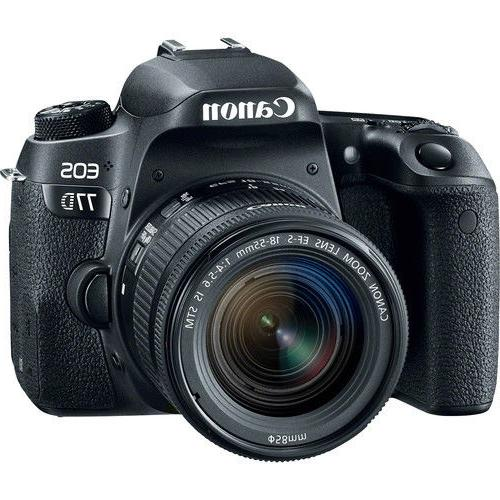 Canon EOS Digital SLR with 18-55mm Lens