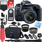 Canon EOS 77D 24.2 MP DSLR Camera + EF-S 18-55mm IS STM Lens