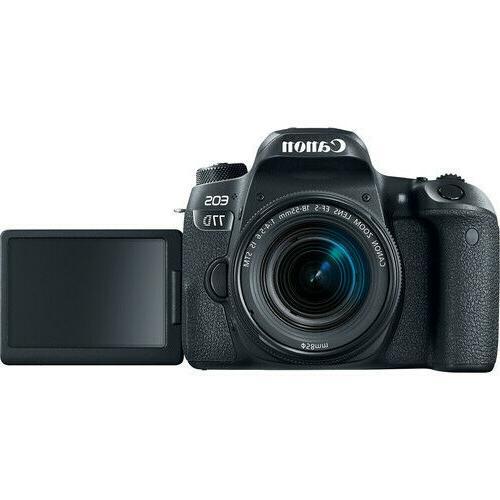 Canon 77D DSLR Camera 18-55mm Lens+