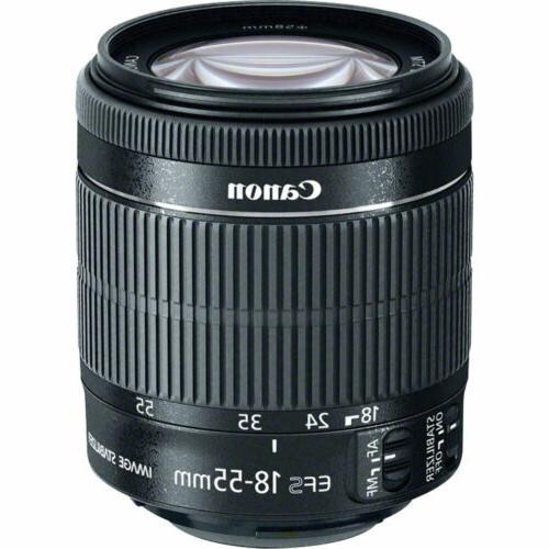 Canon EOS II DIGIC 6 Camera + 18-55mm IS STM + -64GB Kit