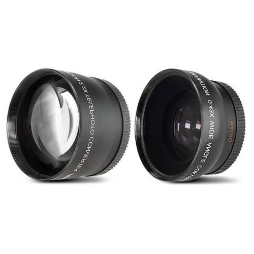 Canon EOS Mark II Camera + 18-55mm IS STM 75-300