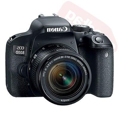 Canon EOS 800D SLR Camera with EF-S IS STM Lens