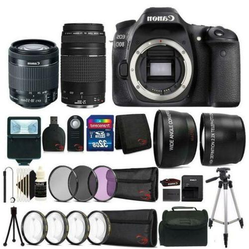 eos 80d 24 2mp dslr camera w