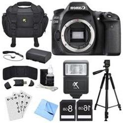 Canon EOS 80D 24.2 MP CMOS Digital SLR Camera  Deluxe Bundle