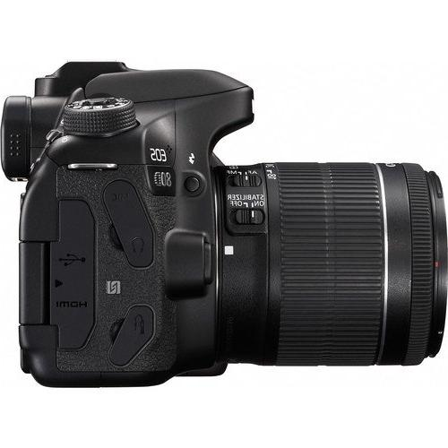 Canon 80D DSLR Camera with Canon EF-S IS STM Lens + Tamron Zoom 70-300mm f/4-5.6 Lens + 2 PC GB Memory Camera Case