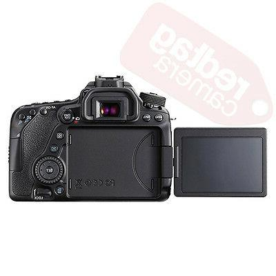 Canon EOS Megapixel with Lens - mm 135 - Touchscreen LCD - Optical II - 4000 x HDMI HD Movie Wireless LAN
