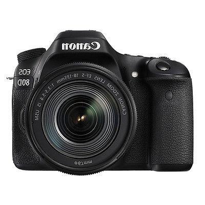 Canon Megapixel Digital SLR Camera with - 18 mm - 135 mm - 7.5x Optical Zoom II 4000 Image x 1080 HDMI HD Wireless LAN
