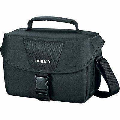 eos dslr camera and gadget shoulder bag