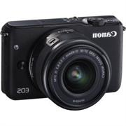 EOS M10 18 Megapixel Mirrorless Camera with Lens - 15 mm - 4