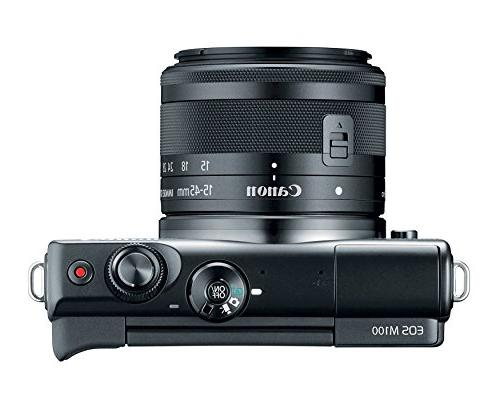 Canon M100 Camera Lens Enabled