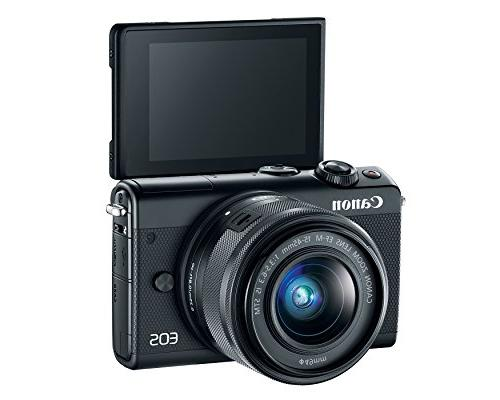Canon M100 Camera Wi-Fi, NFC Enabled
