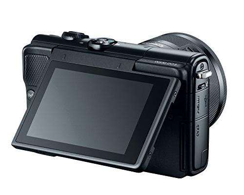 Canon EOS M100 Camera Lens Wi-Fi, Bluetooth, Enabled
