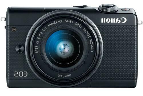 eos m100 mirrorless w lens