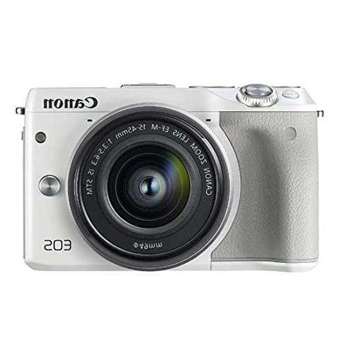 Canon M3 24.2MP 1080P Wi-Fi Camera Lens