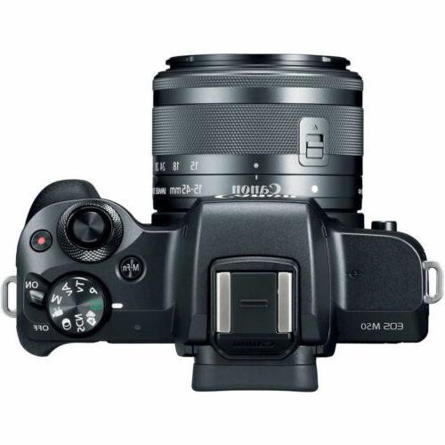 Canon EOS SLR Camera STM Lens ULTIMATE Accessory Bundle