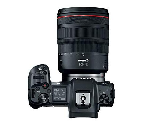 Canon EOS R Mirrorless Digital with 24-105mm Lens