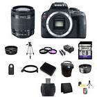 Canon EOS Rebel SL1 DSLR Camera w/18-55mm Lens Professional