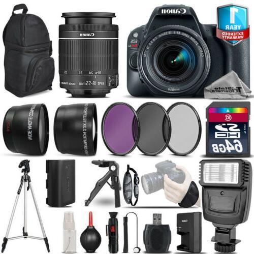 eos rebel sl2 dslr camera 18 55mm