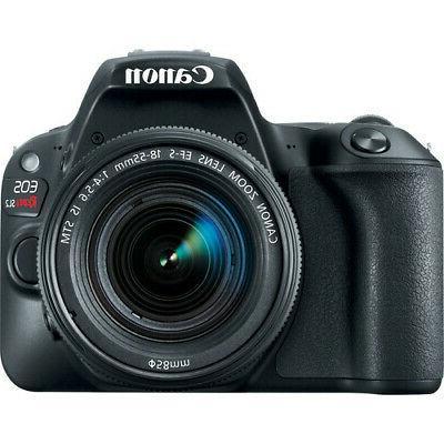 Canon DSLR - Black with 18-55mm Lens Basic Kit