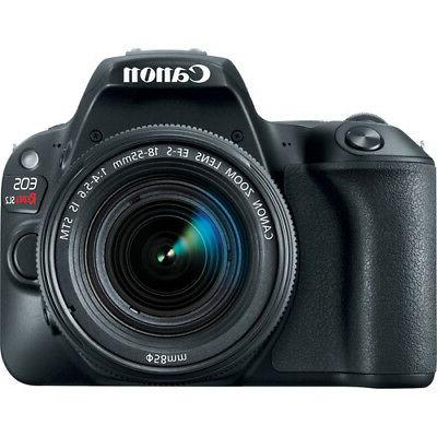 Canon Rebel with DSLR Camera Kit 2249C002