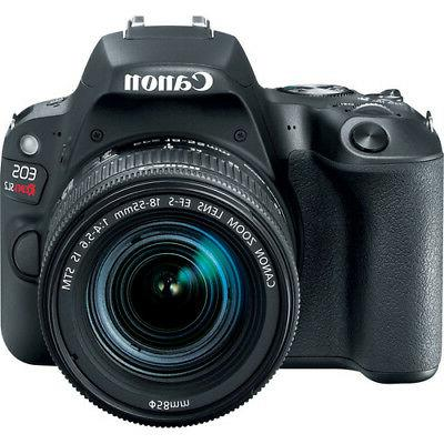 Canon Rebel with DSLR Camera Kit