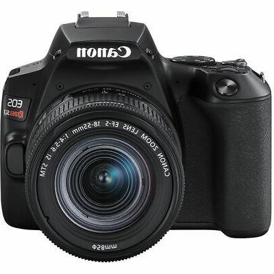 Canon DSLR 4K + Lens Deluxe Bundle