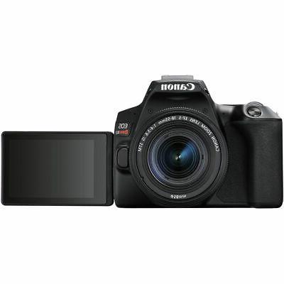 Canon EOS DSLR Camera + Deluxe