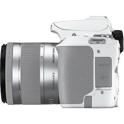 Canon EOS SL3 DSLR f3.5-5.6 IS II White 16GB Bundle
