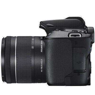 Canon EOS Rebel SL3 DSLR f/3.5-5.6 16GB Bundle