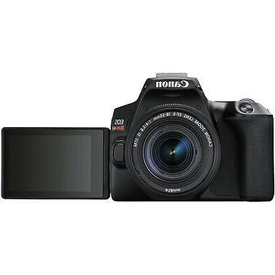 Canon Rebel DSLR Camera f/3.5-5.6 IS II