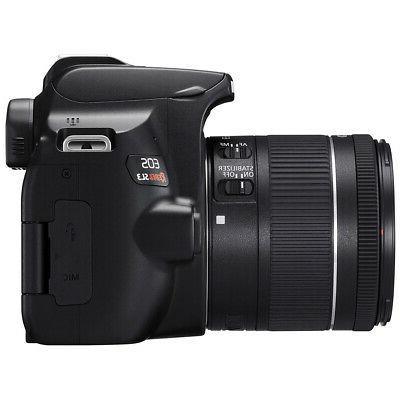 Canon DSLR Camera f/3.5-5.6 II 16GB x2 Bundle