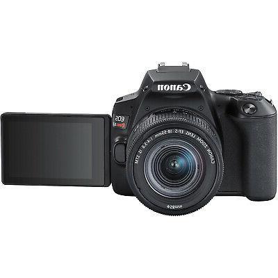 Canon Rebel DSLR Camera f/3.5-5.6 16GB x2