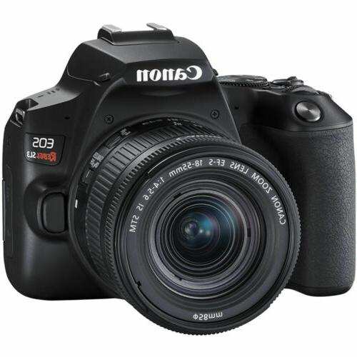 Canon EOS Rebel DSLR with Lens -