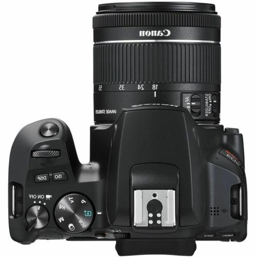 Canon DSLR Camera with Lens