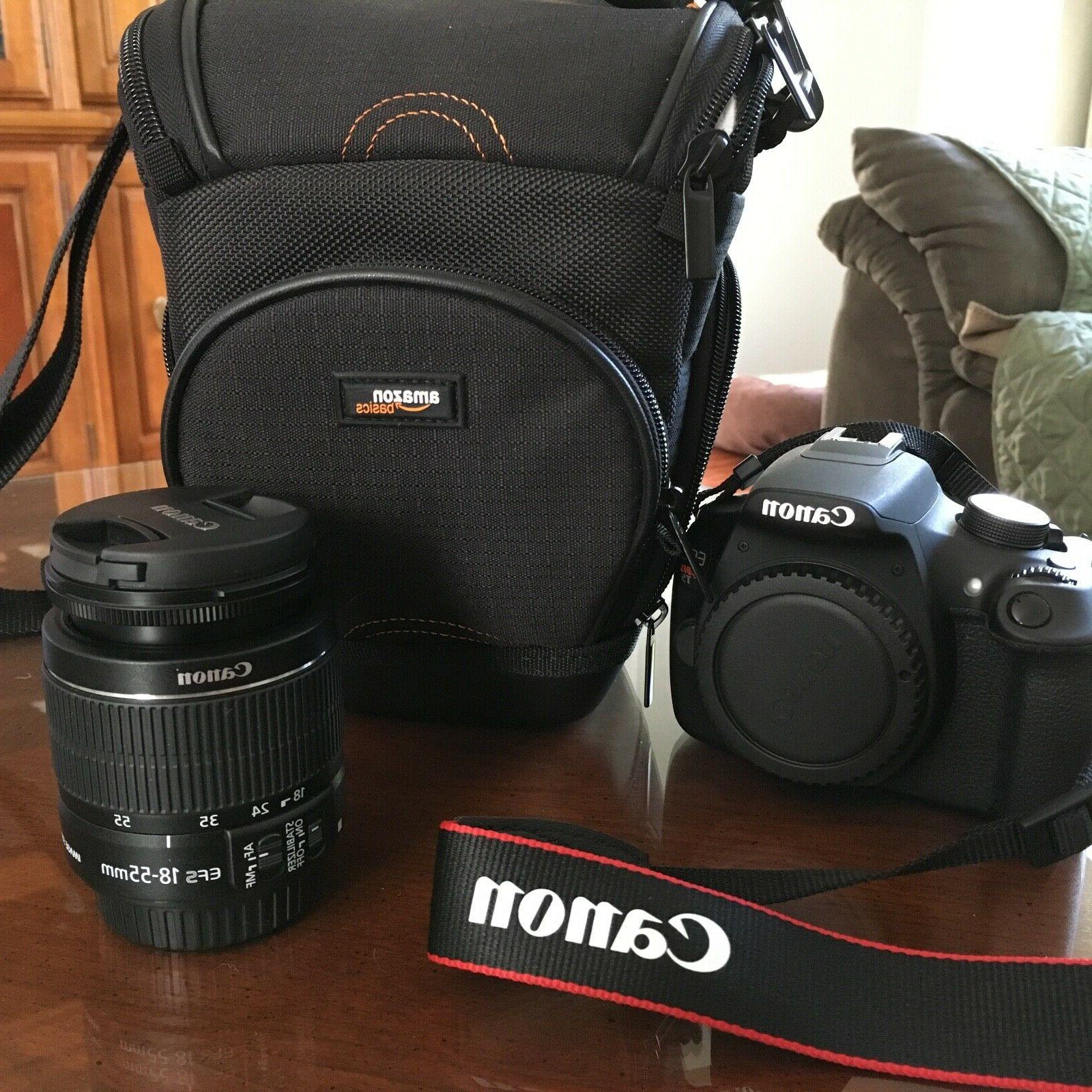 Canon Rebel T5 Digital with EF-S 18-55mm II Lens