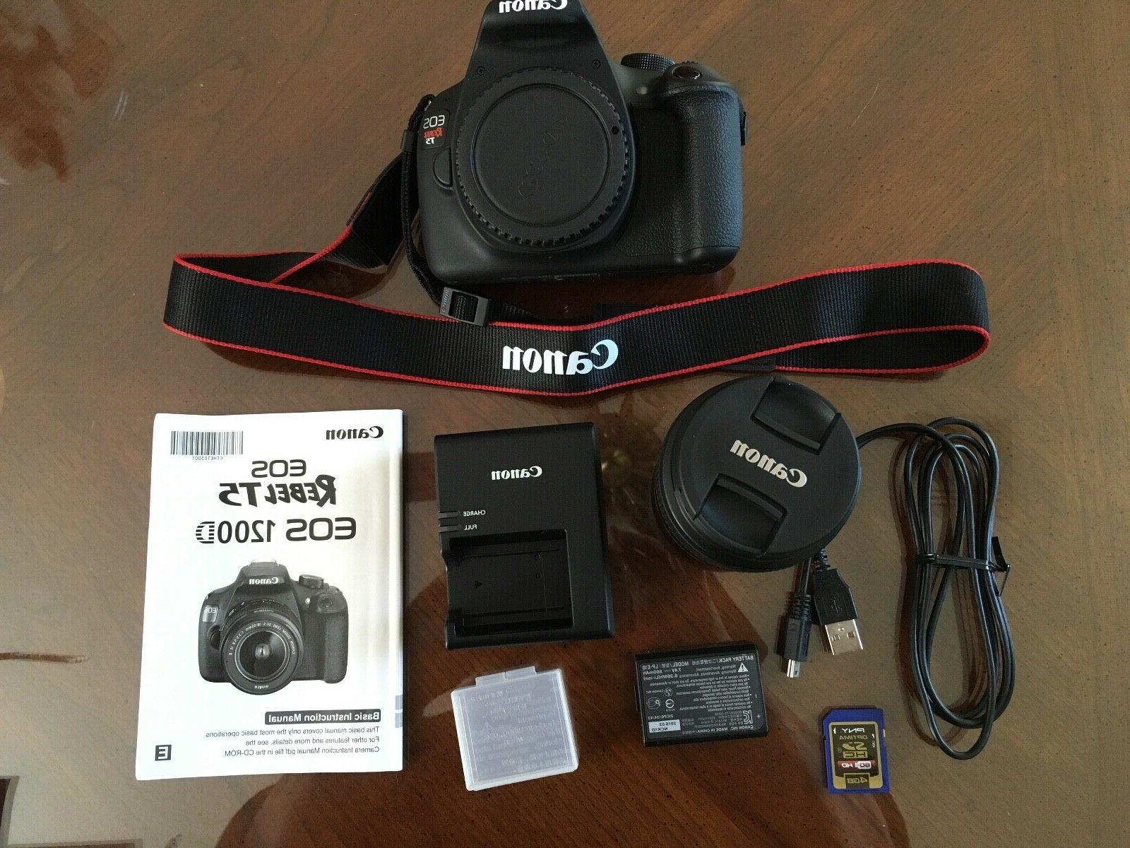 Canon Digital SLR Camera with EF-S 18-55mm II
